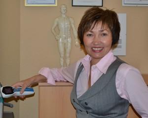 Dr. Zulia Valeyeva-Frost with InterX